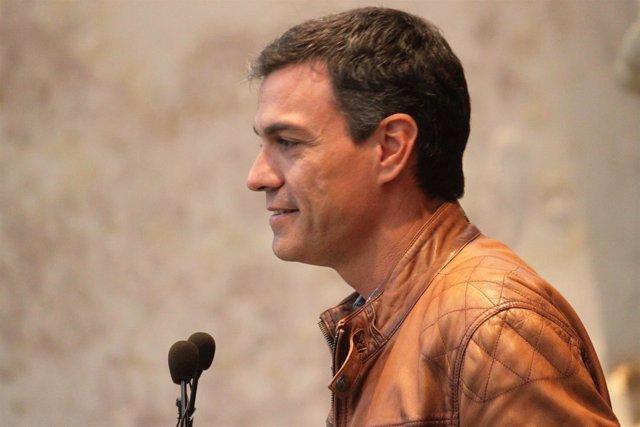 Pedro Sánchez, candidato a la Secretaría General del PSOE