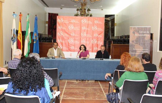 Andrés Neuman y Uberto Stabile, en Letras de Iberoamérica