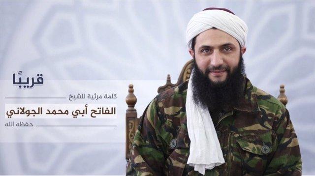 Abú Muhamad al Golani, líder del Frente al Nusra
