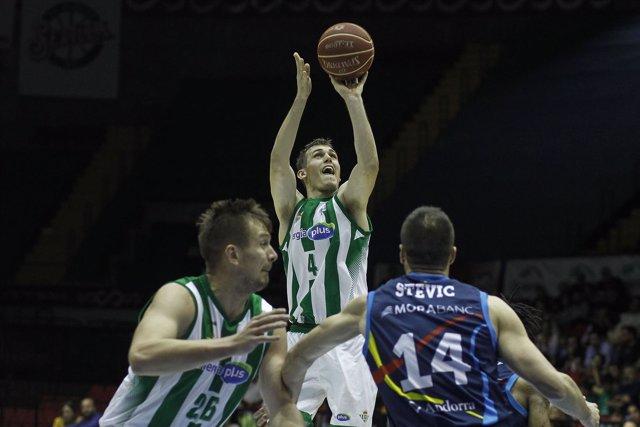 Radicevic anota en el Real Betis-MoraBanc Andorra