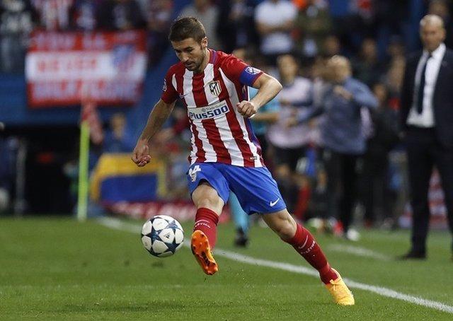 El centrocampista y capitán del Atlético de Madrid, Gabi Fernández