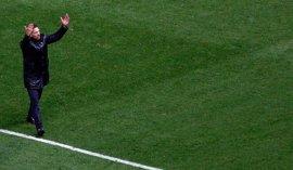 """Simeone: """"La jerarquía es jerarquía y ellos tienen mucha"""""""