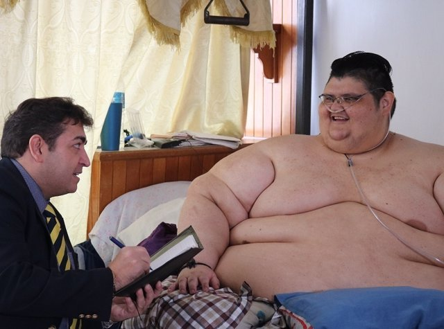 El hombre más obeso del mundo - intervención