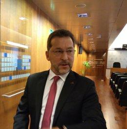El consejero de Educación del Principado de Asturias, Genaro Alonso.