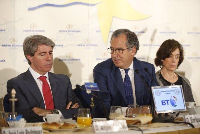Ángel Garrido y Enrique Ossorio