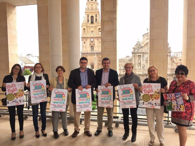 Presentación de la Semana del Comercio de Puente Tocinos