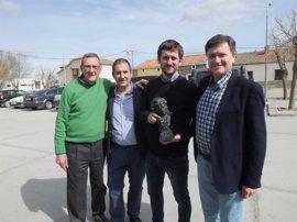 La Diputación de Segovia premia a Raúl Arévalo