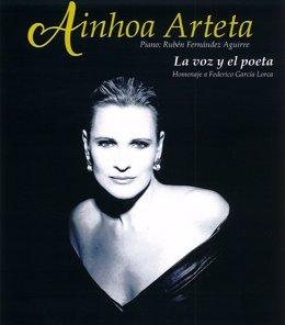 Ainhoa Arteta interpreta este mes en El Batel el recital 'La voz y el poeta'