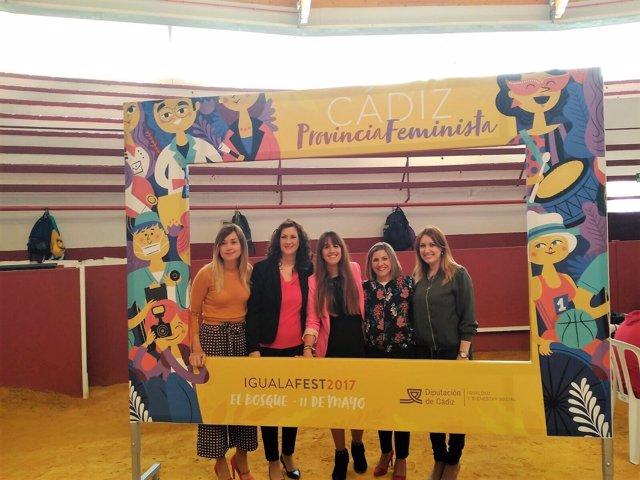 Inauguración de IgualaFest 2017 en El Bosque