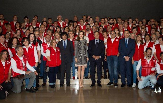 La Reina Letizia preside el acto del Día Mundial de la Cruz Roja