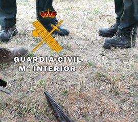 Detenido en Ávila tras encañonar a dos guardias civiles y ocultarse en el monte