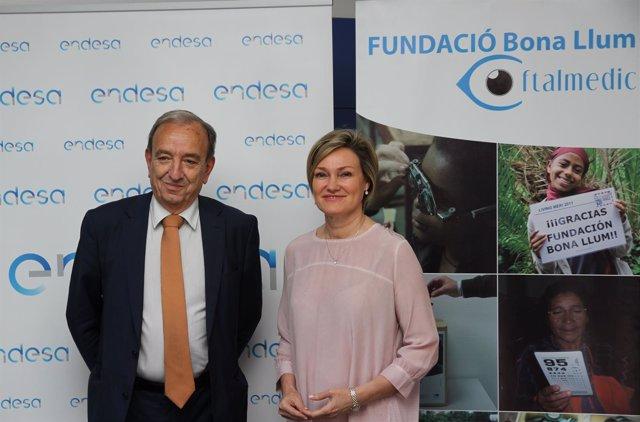 Acuerdo de colaboración entre Endesa y Bona Llum Oftalmedic