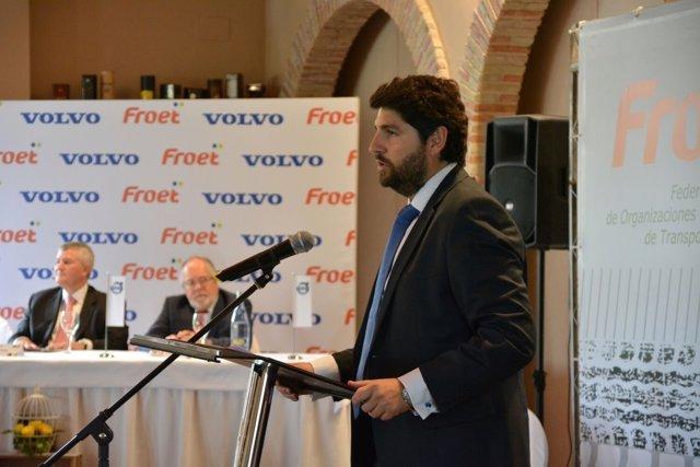 López Miras, En A La Asamblea General De Froet