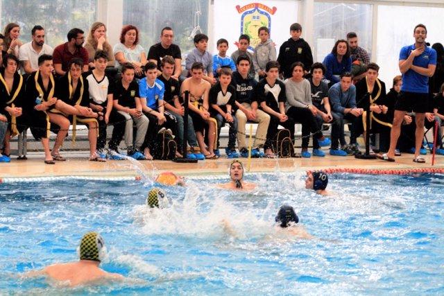 El Waterpolo Brains en un partido