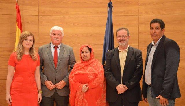 Grupo saharaui en el Senado