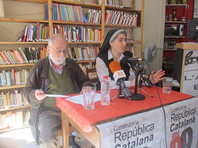 Arcadi Oliveres y Teresa Forcades