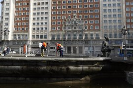 La limpieza está vista como el principal problema de Madrid, seguida por el paro, la contaminación y los atascos