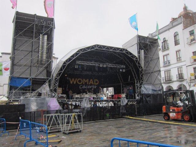 Todo preparado para arrancar los conciertos del festival Womad
