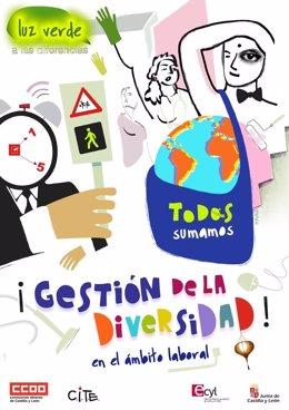 Valladolid. Cartel De La Campaña Contra La Diversidad