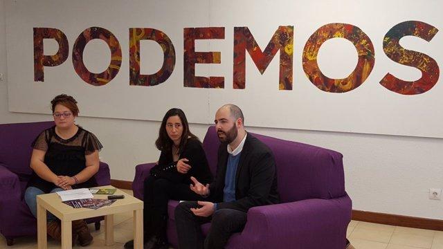 Presentación de la asamblea 'Arronti Cantabria' de Podemos