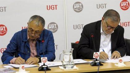 UGT y Unión Profesional renuevan su convenio de cooperación