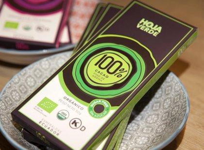 El chocolate ecuatoriano 'Hoja Verde' desembarca en España de la mano de El Corte Inglés