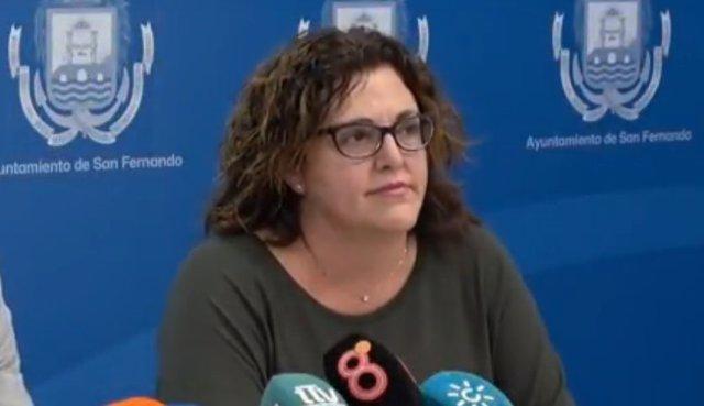 Ana Lorenzo, concejal de Políticas Sociales del Ayuntamiento de San Fernando