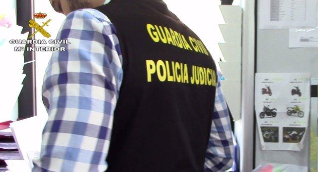 Guardia civil, Policía Judicial, agentes, recurso