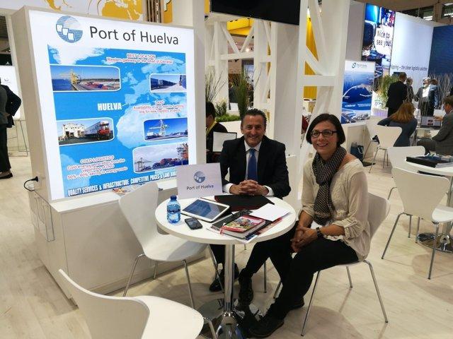 El Puerto de Huelva presenta en Munich su intermodalidad.