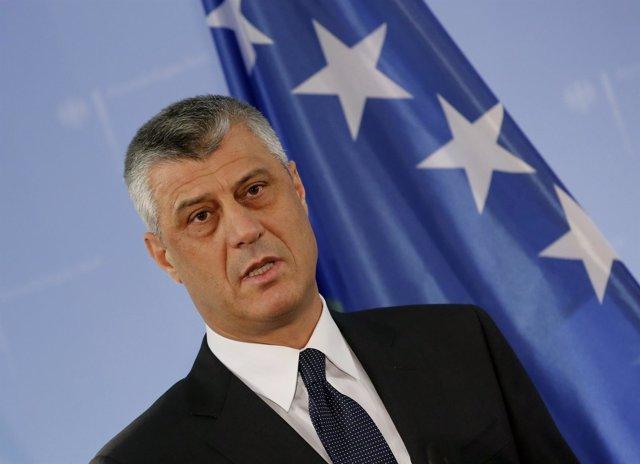 El nuevo presidente de Kosovo, Hashim Thaci