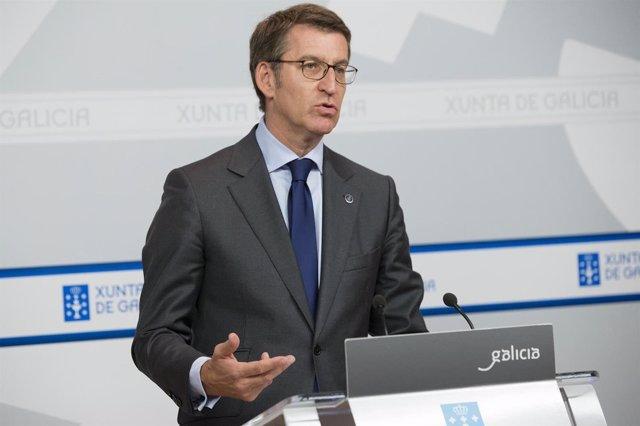 O Presidente Da Xunta, Alberto Núñez Feijóo, Comparecerá En Rolda De Prensa Para