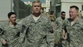 Tráiler y póster oficial de Máquina de Guerra, la cinta bélica de Brad Pitt para Netflix