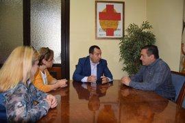 Ruiz Espejo aborda con el nuevo secretario general de CCOO en Málaga la actualidad social y económica