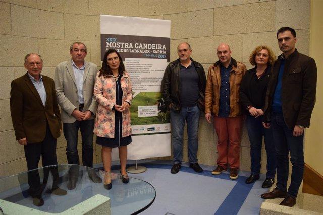 Presentación en Lugo de la Feria de San Isidro que se celebra en SArria.