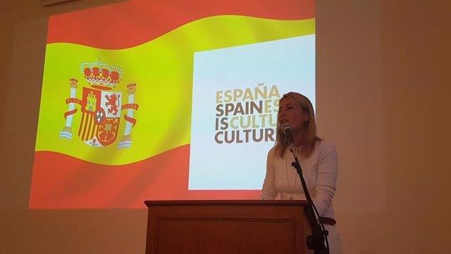 Elena Nevado promociona las ciudades patrimonio en Roma