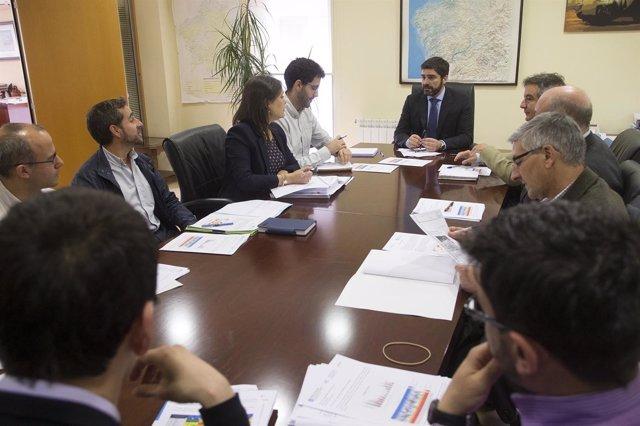 Reunión de la oficina técnica de la sequía de la Xunta