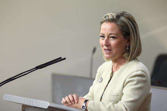 Rueda de prensa de Ana Oramas en el Congreso