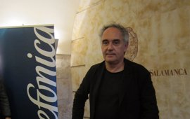 """Ferran Adriá aboga por una cocina saludable pero """"sin obsesionarse"""""""