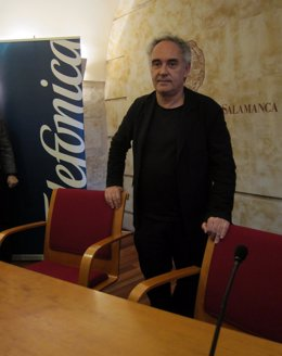 Ferran Adriá En Salamanca.