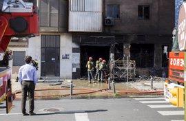 Policía Nacional investiga el incendio en el bazar chino en Huelva y por el momento no hay causa oficial