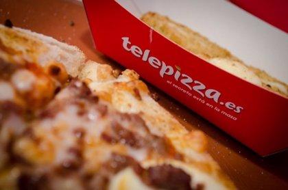 Telepizza triplica su beneficio en el primer trimestre por la reducción de costes financieros