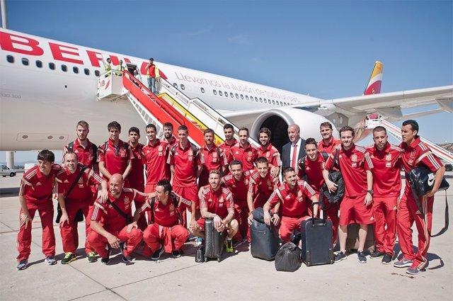 Selección española Iberia