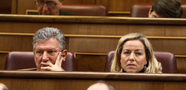 Pedro Quevedo (Nueva Canarias) Y Ana Oramas (Coalición Canaria)