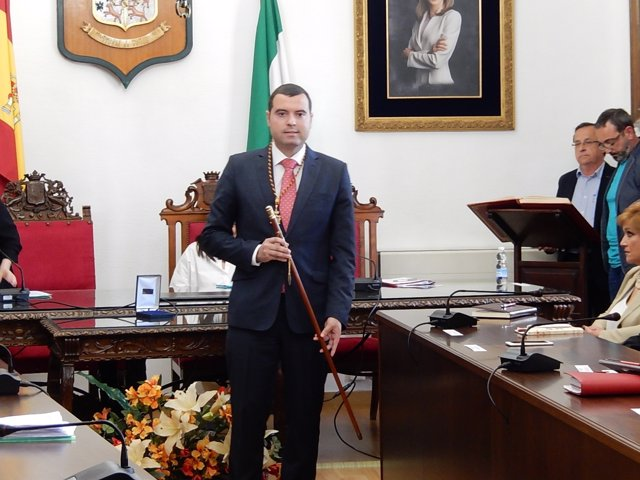 El alcalde de Priego, José Manuel Mármol (PSOE)