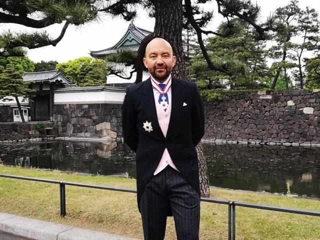 Jaime García-Legaz recibe la condecoración Orden del Sol Naciente de Japón