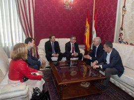 Ceniceros se reúne con el secretario de Estado de Educación, Formación Profesional y Universidades
