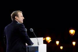 El partido de Macron vencería las elecciones parlamentarias con el 29 por ciento de los votos