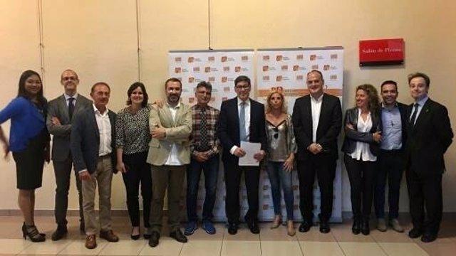 Jornada del PAR sobre futuro urbano, económico y sostenible de Zaragoza