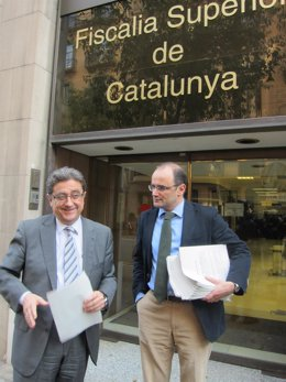 Enric Millo y Sergio Santamaria, PP
