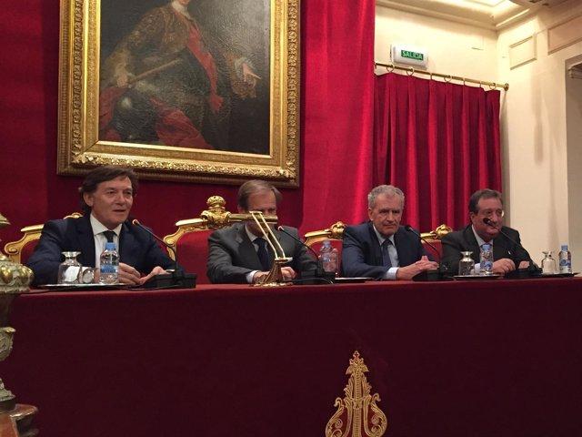 El presidente del Consejo Superior de Deportes, José Ramón Lete